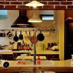 沼津 I邸: HAPTIC HOUSEが手掛けたキッチンです。