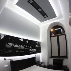 Single loft -- Lofty u Scheiblera, Łódź -- weloftdesign.com Nowoczesna sypialnia od WE LOFT DESIGN Nowoczesny