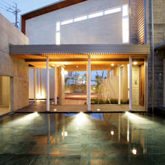 Garden by Egawa Architectural Studio