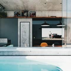 Piscinas de estilo  por 285 arquitetura e urbanismo, Industrial