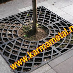 KARMA METAL – KARMA METAL - Ağaç Altı Dibi Izgarası:  tarz Kış Bahçesi