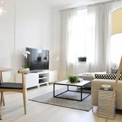 غرفة المعيشة تنفيذ TIKA DESIGN