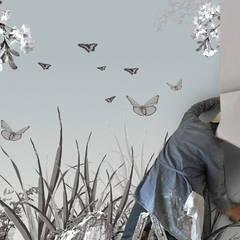 Dschungel:  Wände von Gaedke Tapeten