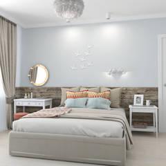 Скандинавское настроение: Спальни в . Автор – Ekaterina Donde Design,