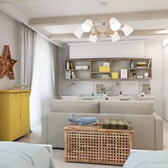 Скандинавское настроение: Детские комнаты в . Автор – Ekaterina Donde Design