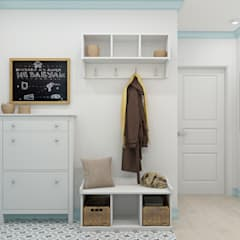 Koridor dan lorong oleh Ekaterina Donde Design