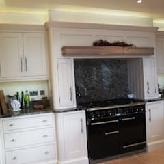 HAND BUILT KITCHEN:  Kitchen by COOPER BESPOKE JOINERY LTD
