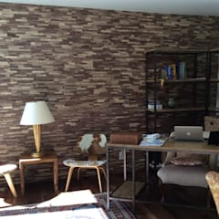 Wallure - Residential property in the USA (September 2014):  Walls by Wallure