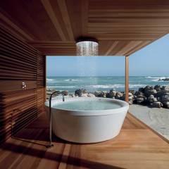 Koloniale badkamers van Design by Torsten Müller Koloniaal