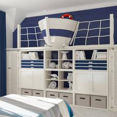 ห้องนอนเด็ก by Samarina projects