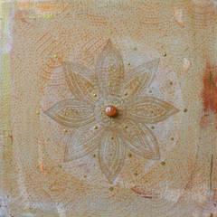 Vintage Mandala with Carneol :  Wohnzimmer von Kristin Thielemann