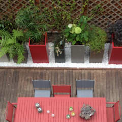 Bacs IMAGE'IN Hauts en couleurs !: Jardin de style  par ATELIER SO GREEN,