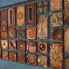 Formelle in ceramica Raku: Spa in stile  di Forgiatore di Elementi di Giuseppe Sautto
