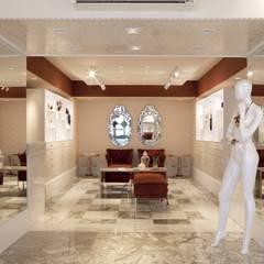 مكاتب ومحلات تنفيذ Adriana Scartaris: Design e Interiores em São Paulo