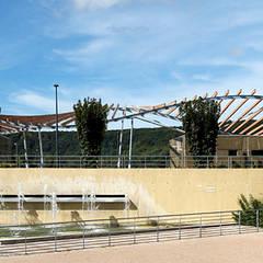 Local de foot: Stades de style  par Agence Machurey