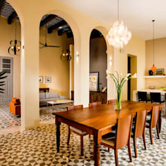 Dining room by Taller Estilo Arquitectura, Colonial