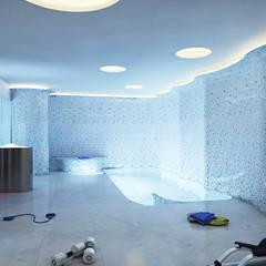Maison BY: Spa de estilo  de SINGULAR STUDIO
