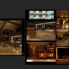 XUMA BRASSERIE: Restaurants de style  par FCKN DESIGN