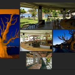 XUMA BEACH: Lieux d'événements de style  par FCKN DESIGN