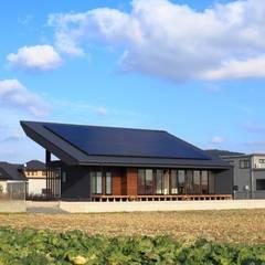 Casas de estilo  por artect design - アルテクト デザイン
