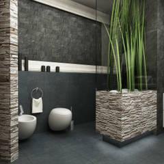 Łazienka azjatyckie SPA.: styl , w kategorii Łazienka zaprojektowany przez CAROLINE'S DESIGN