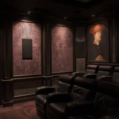 Cinema Renaissance Klasyczny pokój multimedialny od SAFRANOW Klasyczny