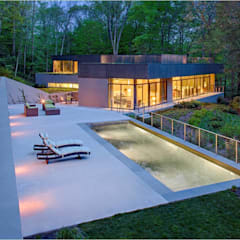 Weston Residence:  Pool by Specht Architects