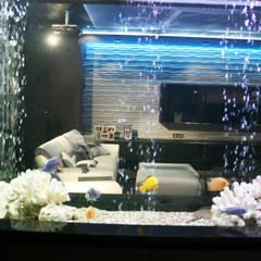аквариум:  Вітальня by Атмосфера