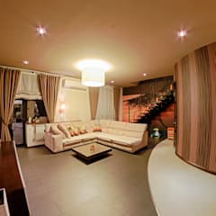Квартира в этно стиле:  Вітальня by Атмосфера