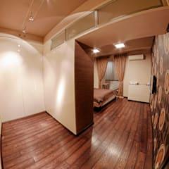 Квартира в этно стиле:  Спальня by Атмосфера