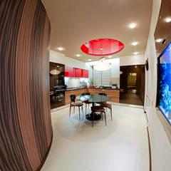 Квартира в этно стиле:  Кухня by Атмосфера