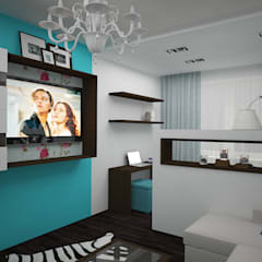 Eclectic style living room by дизайн-бюро ARTTUNDRA Eclectic
