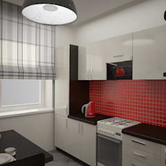 Eclectic style kitchen by дизайн-бюро ARTTUNDRA Eclectic