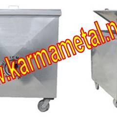 KARMA METAL – Karma Metal - Galvaniz Çop Konteyneri Sıcak Daldırma Galvanizli Fiyatı Fiyatları:  tarz Garaj / Hangar