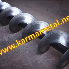 KARMA METAL – KARMA METAL -Helezon konveyör yaprağı imalatı Ve paslanmaz çelik yaprakları:  tarz Çalışma Odası