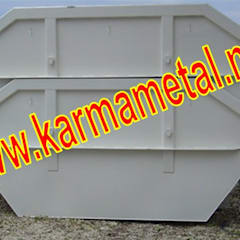 KARMA METAL – Karma Metal – Hurda Şantiye Moloz İnşaat Çöp Salıncak Konteyneri: endüstriyel tarz tarz Banyo