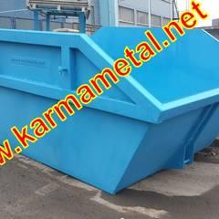 KARMA METAL – Karma Metal – Hurda Şantiye Moloz İnşaat Çöp Salıncak Konteyneri:  tarz Çalışma Odası