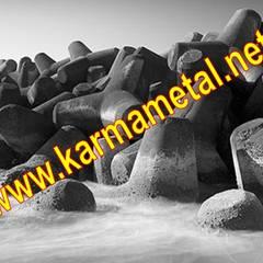 KARMA METAL – KARMA METAL-Tetrapod Kalıbı Tetrapot İmalatı ve Üretimi : endüstriyel tarz tarz Banyo