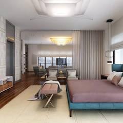 Dormitorios de estilo topical por KAPRANDESIGN