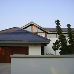 Dom w Laskach atz-studio Nowoczesne domy