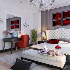 Частный дом (Краснодар): Спальни в . Автор – Mushulov Project
