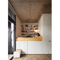 Quintana 4598 Dormitorios modernos: Ideas, imágenes y decoración de IR arquitectura Moderno Madera Acabado en madera