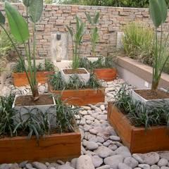 terraza: Jardines de estilo asiático por BAIRES GREEN MUEBLES