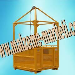 Malzeme Marketi – Malzeme Marketi- Kule Vinç Adam Taşıma Sepeti: endüstriyel tarz tarz Multimedya Odası