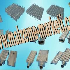 Malzeme Marketi – Malzeme Marketi-Galvanizli Metal Platform Izgara: endüstriyel tarz tarz Multimedya Odası