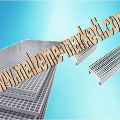 Malzeme Marketi – Malzeme Marketi-Galvanizli Metal Platform Izgara:  tarz Koridor ve Hol