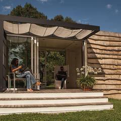 Studio jardin: Jardin de style  par .oboo-outdoor,