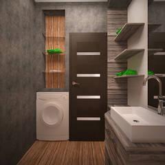Bathroom by дизайн-бюро ARTTUNDRA