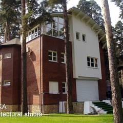 Дом в Малаховке Дома в стиле модерн от AR-KA architectural studio Модерн