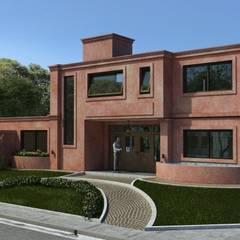 Vivienda Barrio Santina, Valle Escondido Còrdoba Capital Casas clásicas de Estudio de Arquitectura y Diseño Feng Shui Clásico